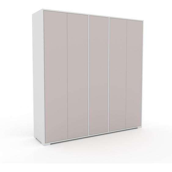Schrank Lichtgrau - Moderner Schrank: Türen in Lichtgrau - Hochwertige Materialien - 190 x 196 x 47 cm, Selbst zusammenstellen