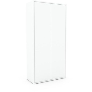 Schrank Weiß - Moderner Schrank: Türen in Weiß - Hochwertige Materialien - 77 x 157 x 35 cm, Selbst zusammenstellen