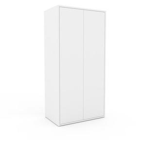Schrank Weiß - Moderner Schrank: Türen in Weiß - Hochwertige Materialien - 77 x 157 x 47 cm, Selbst zusammenstellen