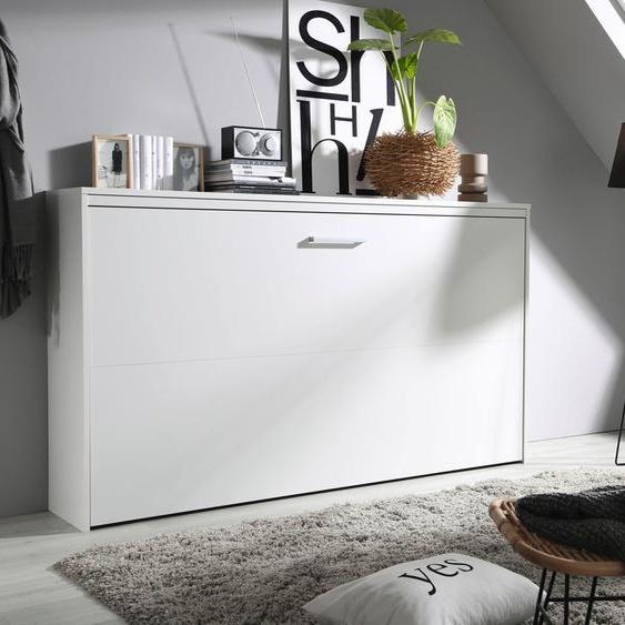 Schrankbett »Albero«, beige, rauch ORANGE»Albero«