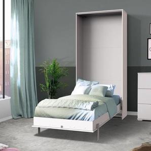 Schrankbett Milagro, weiß, 90x200 cm