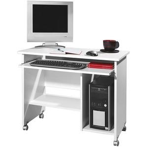 computertische in grau preisvergleich moebel 24. Black Bedroom Furniture Sets. Home Design Ideas