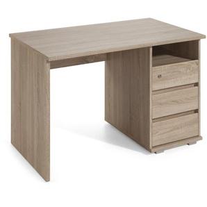 Schreibtisch ,Eiche ,Holzoptik