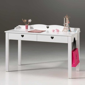 Schreibtisch f�r Kinderzimmer Wei�