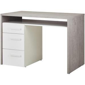Schreibtisch - grau - 110 cm - 74 cm - 60 cm | Möbel Kraft