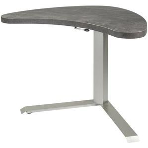 Schreibtisch höhenverstellbar  Veit ¦ grau