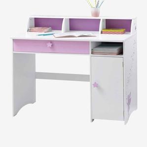 Schreibtisch Kleine Fee weiß/violett