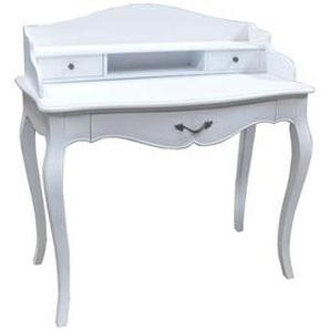 Schreibtisch- Konsole Louis, weiss