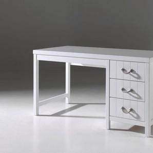 Schreibtisch »Lewis«, weiß, FSC-Zertifikat, , , mit Schubkästen, Vipack