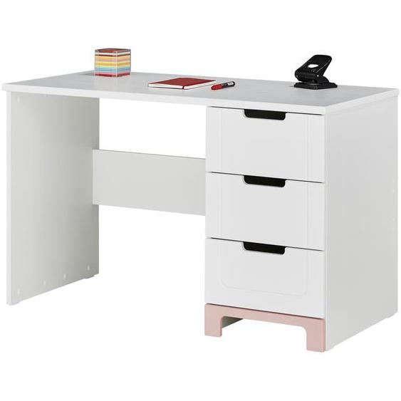 Schreibtisch  Mina ¦ weiß