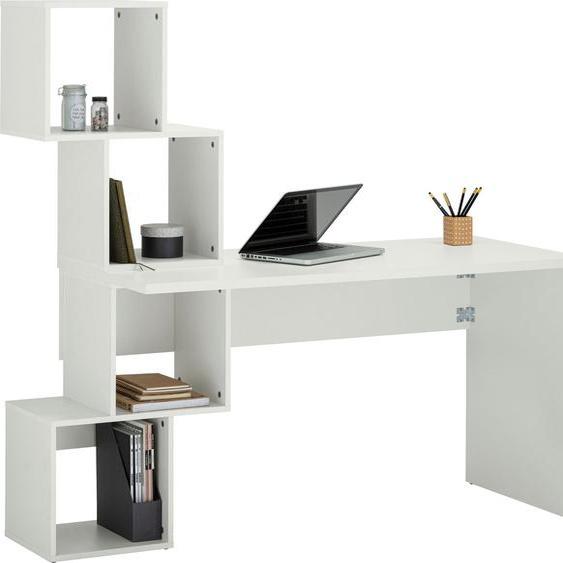 Schreibtisch »Reggi«, mit 4 offenen Fächern