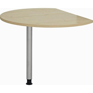 : Tischplatte, Ahorn, B/H 80 100