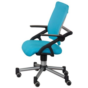 Schreibtischstuhl Tio in azurblau