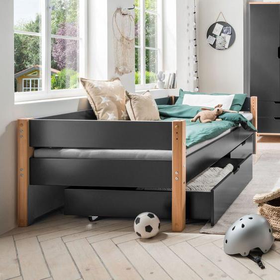 Schubkasten-Bett Kids Nordic, grün, 90x200 cm