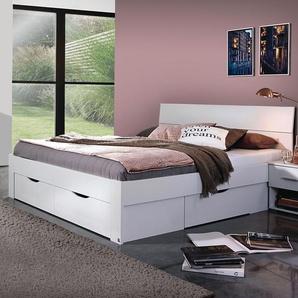 Schubkasten-Bett Leilani, weiß, 90x200 cm
