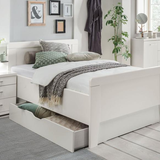 Schubkasten-Seniorenbett Calimera, weiß, 140x200 cm