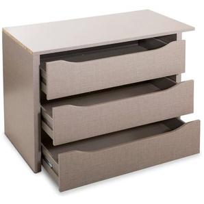 Rauch Packs Schubladeneinsatz, Grau, Holzoptik
