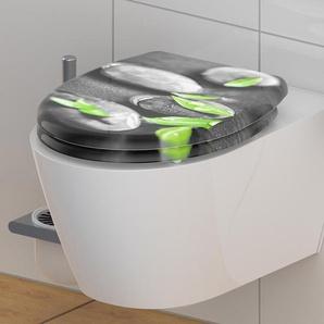 SCHÜTTE-Duroplast-WC-Sitz »STONE« - grün -