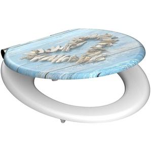 SCHÜTTE WC-Sitz »Shell Heart«, mit Absenkautomatik