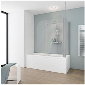 SCHULTE Badewannenaufsatz mit Deckenverstrebung, BxHxT: 114,5 x 140 x 70 cm