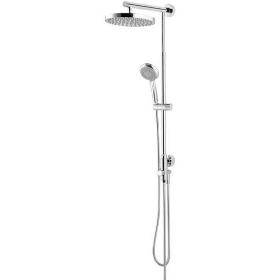 Schulte Duschsystem Rain Classic mit Umsteller, rund, 148 cm