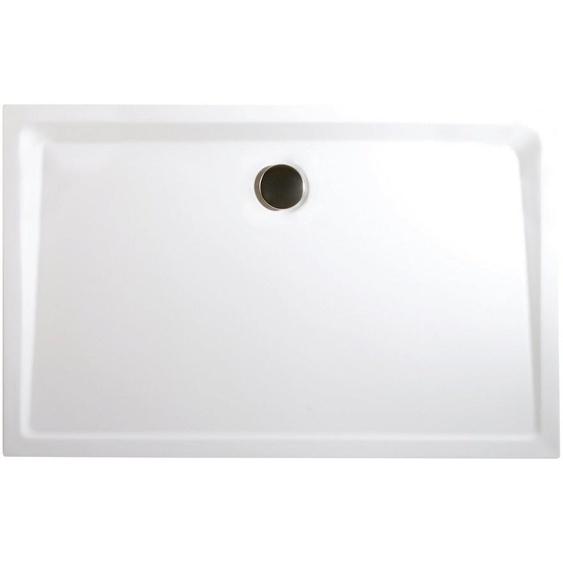 Schulte Duschwanne »Extraflach«, rechteckig, Sanitäracryl, 1-St., Rechteck, BxH: 90 x 100 cm