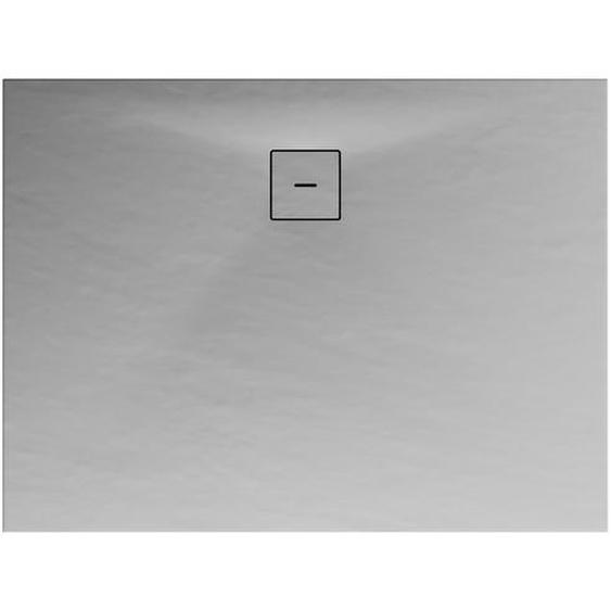 Schulte Duschwanne Mineralguss grau 75 x 100 cm