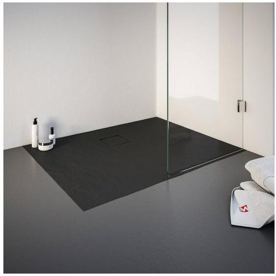 Schulte Duschwanne, rechteckig, Mineralguss, rechteckig, BxT: 900 x 1000 mm
