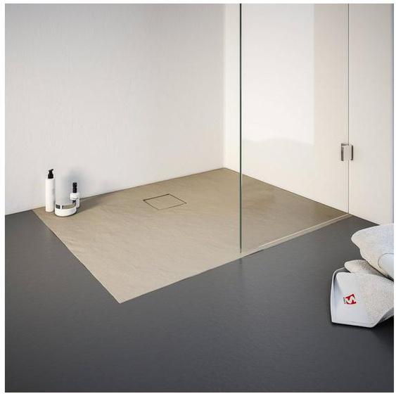 Schulte Duschwanne, rechteckig, Mineralguss, rechteckig, BxT: 900 x 1400 mm