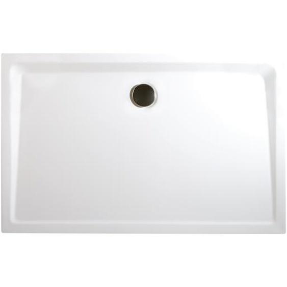 Schulte Duschwanne, Sanitäracryl, extra-flach, rechteckig, 100 x 90 x 3,5 cm