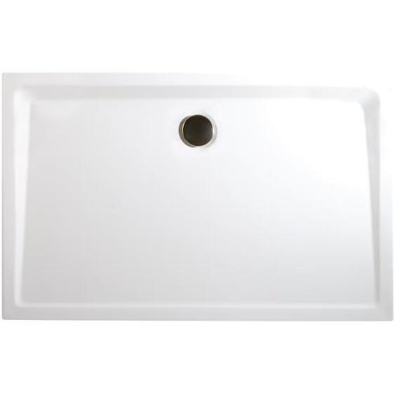 Schulte Duschwanne, Sanitäracryl, extra-flach, rechteckig, 160 x 90 x 3,5 cm