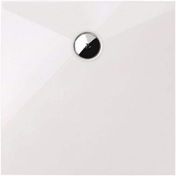 Schulte Eckduschwanne »Plan«, quadratisch, Sanitäracryl, BxT: 90 x 90 cm