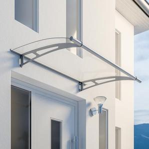 Schulte Pultbogenvordach LT-Line Edelstahl 150 x 95 cm
