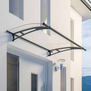 Schulte Pultbogenvordach LT-Line Stahl 150 x 95 cm