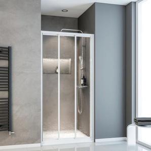 SCHULTE Nischentür »Sunny«, Duschtür mit Verstellbereich von 77,6-79 cm