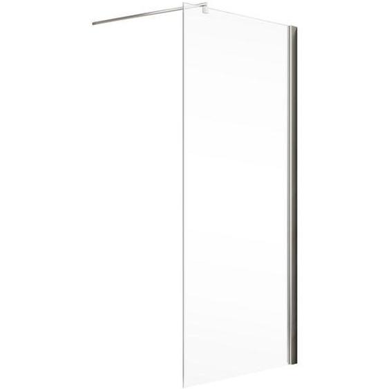 Schulte Walk In Dusche MasterClass M6 teilgerahmt, Chromoptik, 80 x 200 cm