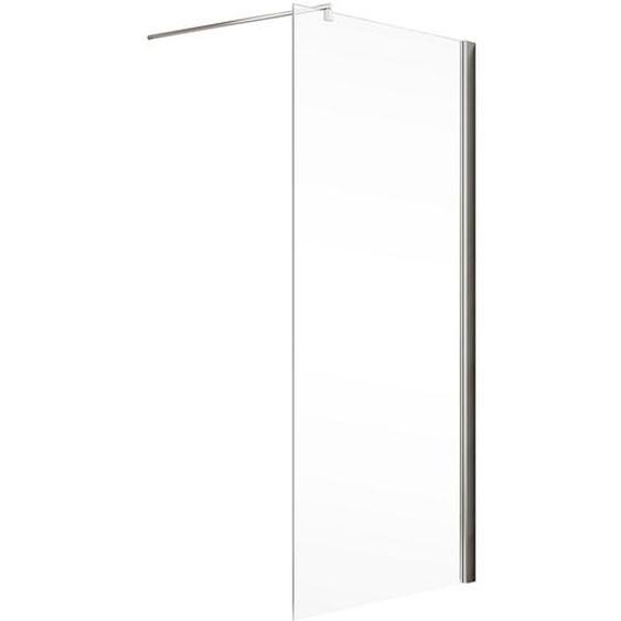 Schulte Walk In Dusche MasterClass teilgerahmt, Chromoptik, 120 x 200 cm