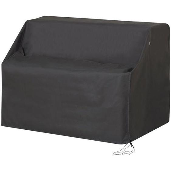 Schutzhülle für 2-Sitzer Bank - grau   Möbel Kraft