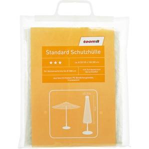 Standard Schutzhülle für Sonnenschirme PE-Bändchengewebe transparent 35 x 183 cm
