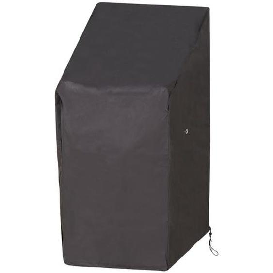 Schutzhülle für Stapel- und Relaxstühle - grau   Möbel Kraft