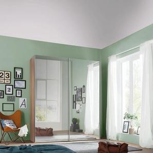Schwebetürenschrank, 150 x 216 x 68 BxHxT cm, beige, Express Solutions