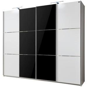 Schwebetürenschrank  Escape | schwarz | 300 cm | 236 cm | 65 cm |