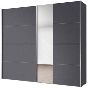 Schwebetürenschrank, 250 x 216 x 68 BxHxT cm, grau, Express Solutions