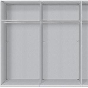 Schwebetürenschrank, 300 x 236 BxH cm, grau, Express Solutions