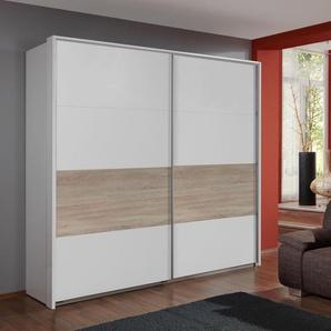 WIMEX Schwebetürenschrank, 270 x 210 x 65 BxHxT cm, weiß »Bert«