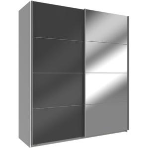 WIMEX Schwebetürenschrank, 135 x 210 x 65 BxHxT cm, weiß »Easy«