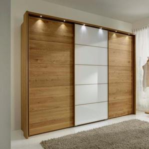 Schwebetürenschrank, 250 x 220 BxH cm, beige »Kufstein«, WIEMANN