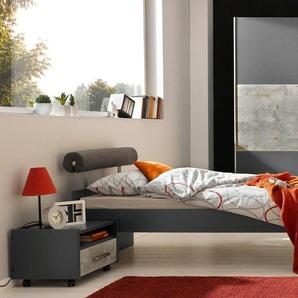 Rauch Schwebetürenschrank, grau, Material Beton »Mailo«