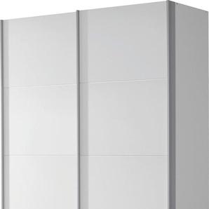 Rauch Schwebetürenschrank »Quadra«, 135 x 210 x 62 BxHxT cm, weiß