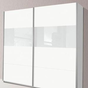Rauch Schwebetürenschrank, 226 x 210 x 62 BxHxT cm, weiß »Quadra«
